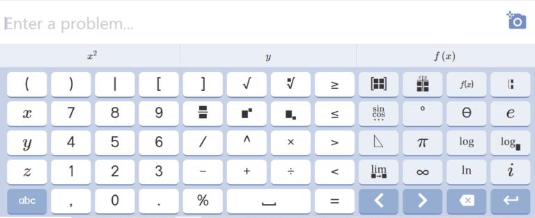 Mathway Calculator